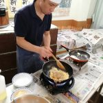 黒豆きなこの焼き餅 ~東香里~
